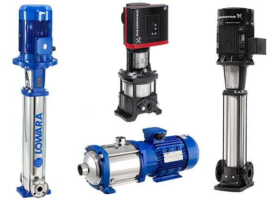 Multistage High Pressure & Booster Pumps
