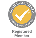 Citation Approved Health & Safety Registered Member